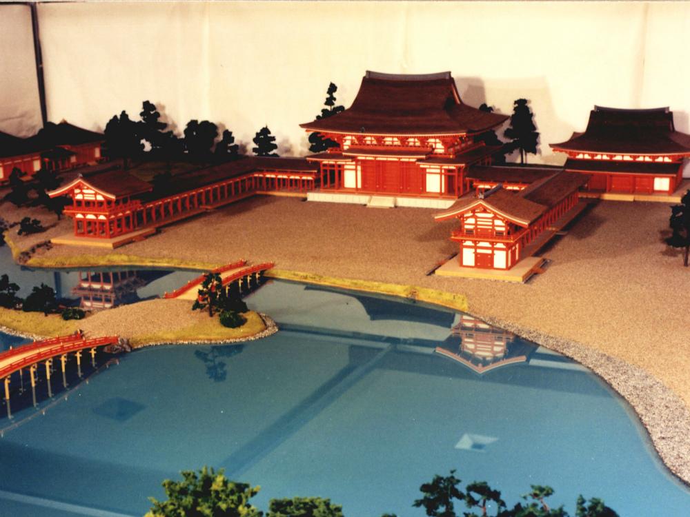 毛越寺復元模型 │ 縮尺:1/50 │ 平泉文化史館