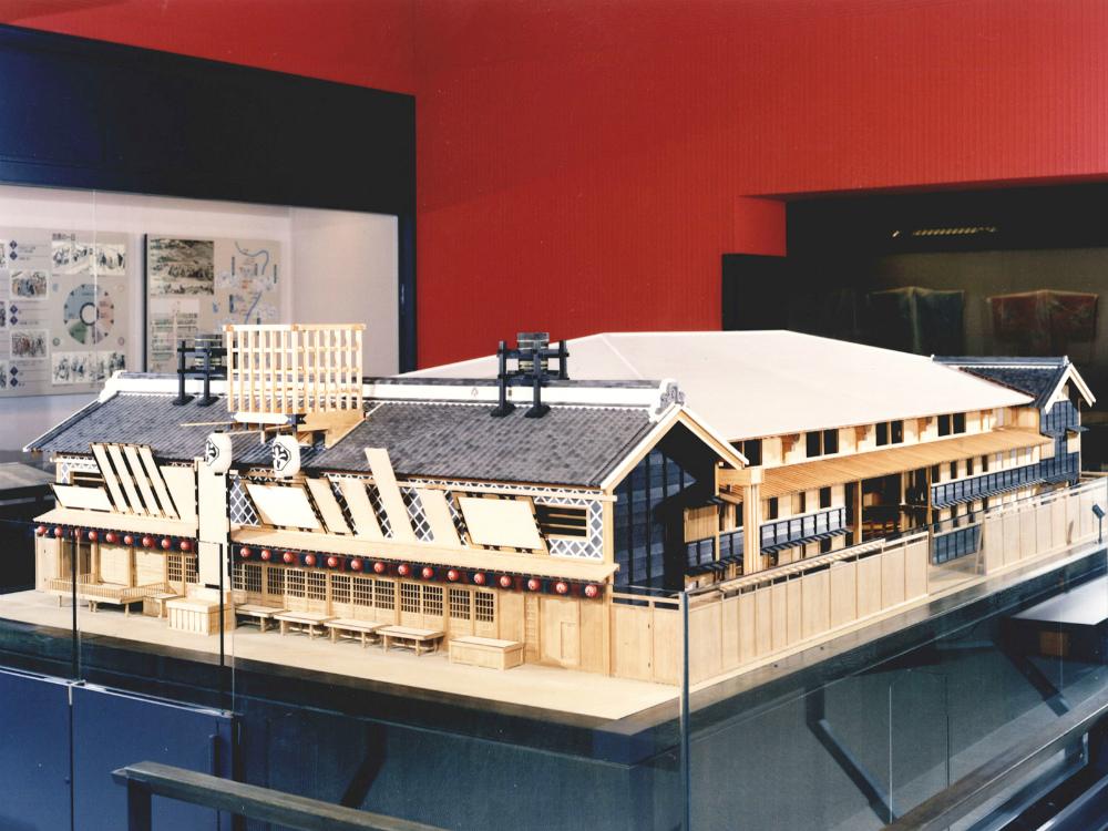 中村座全体復元模型 │ 縮尺:1/10 │ 江戸東京博物館