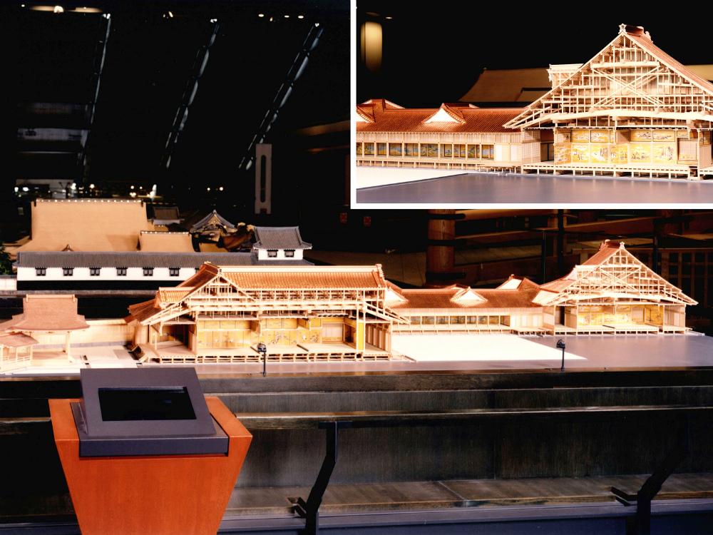 江戸城本丸大広間・松の廊下復元模型 │ 縮尺:1/30 │ 江戸東京博物館