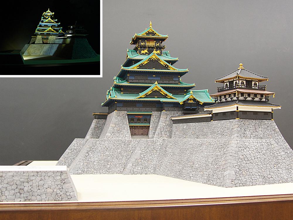 天正期大坂城復元模型 │ 縮尺:1/130 │ 奈良県(個人)