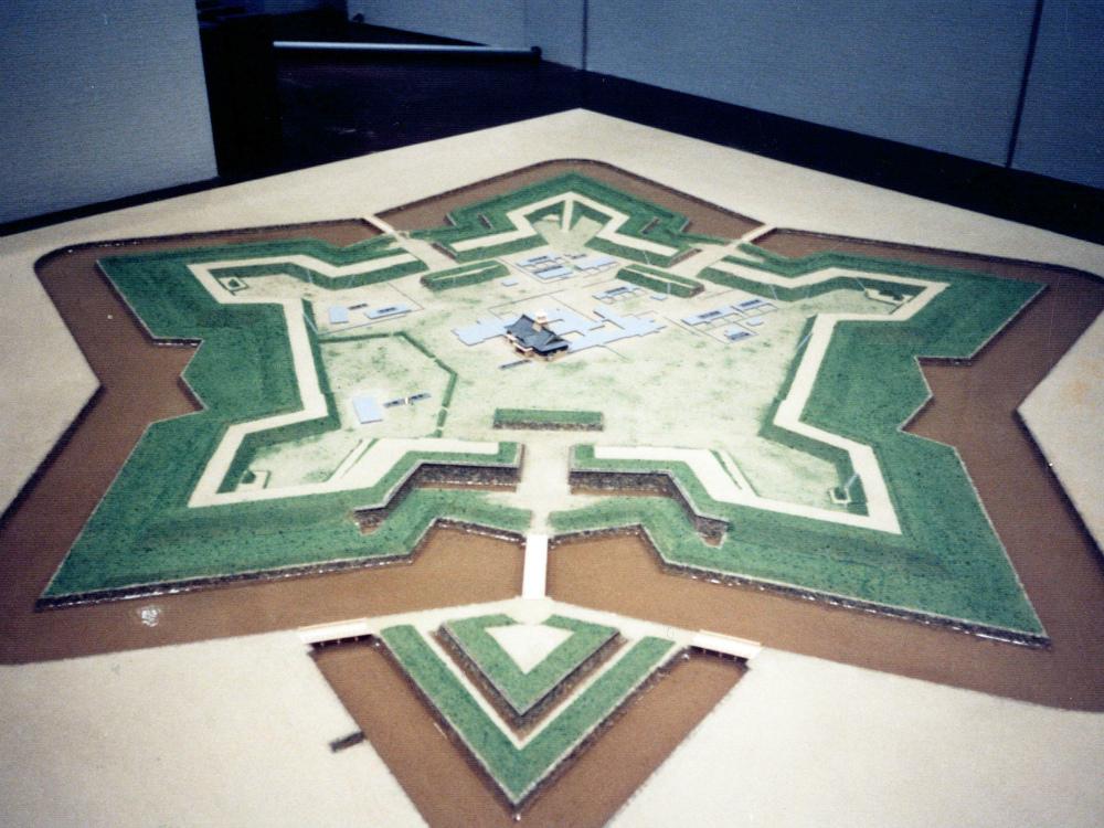 五稜郭模型 │ 縮尺:1/400 │ 北海道開拓記念館