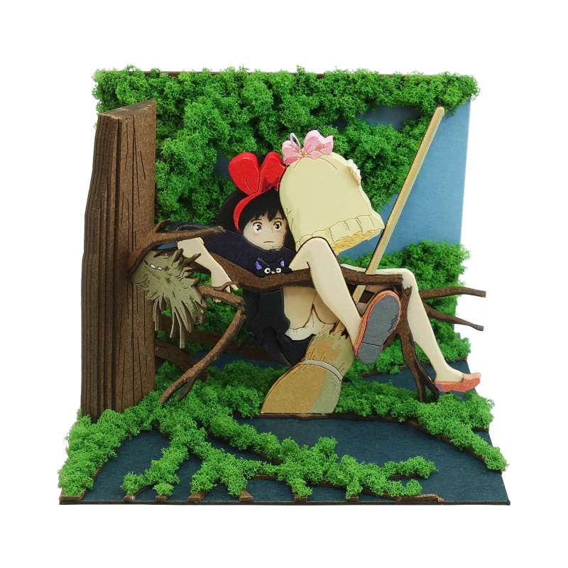 スタジオジブリmini【森の中に落ちたキキ】